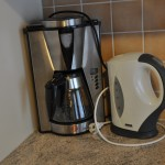 Kafeemaschine & Wasserkocher